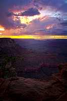 Sunset at Yavapai Point, Grand Canyon, AZ