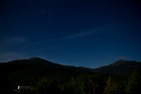 Midnight at the Base of Mount Washington